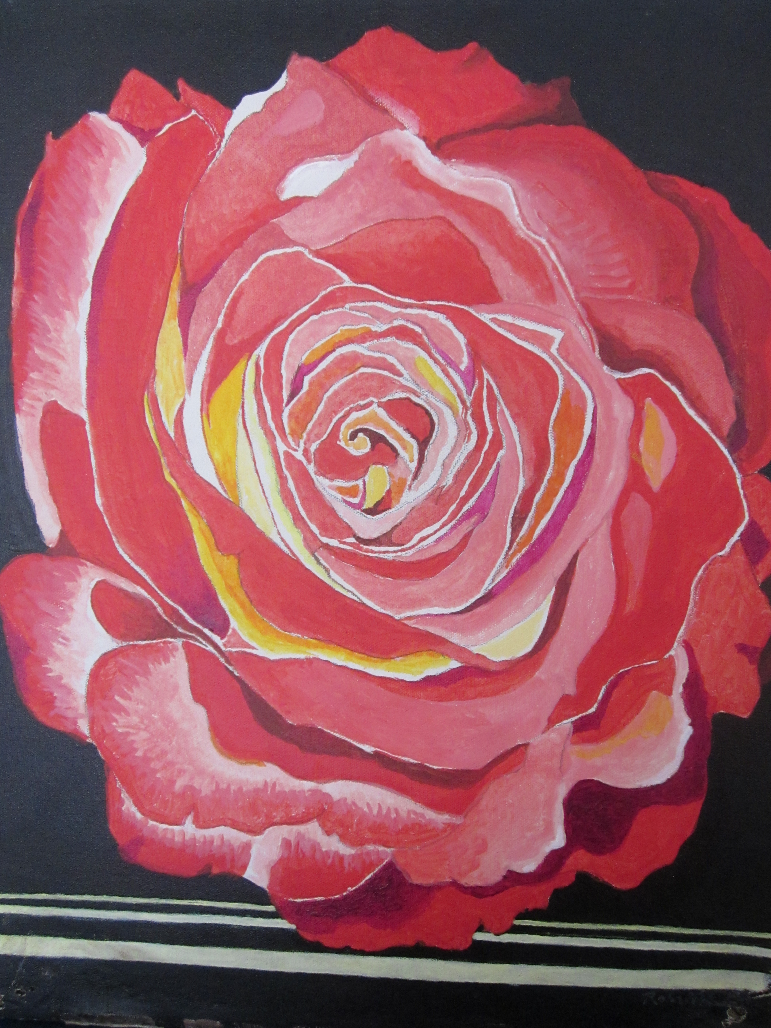213 untitled (Red Rose), 16- x 20-, acrylics on canvas (1).JPG