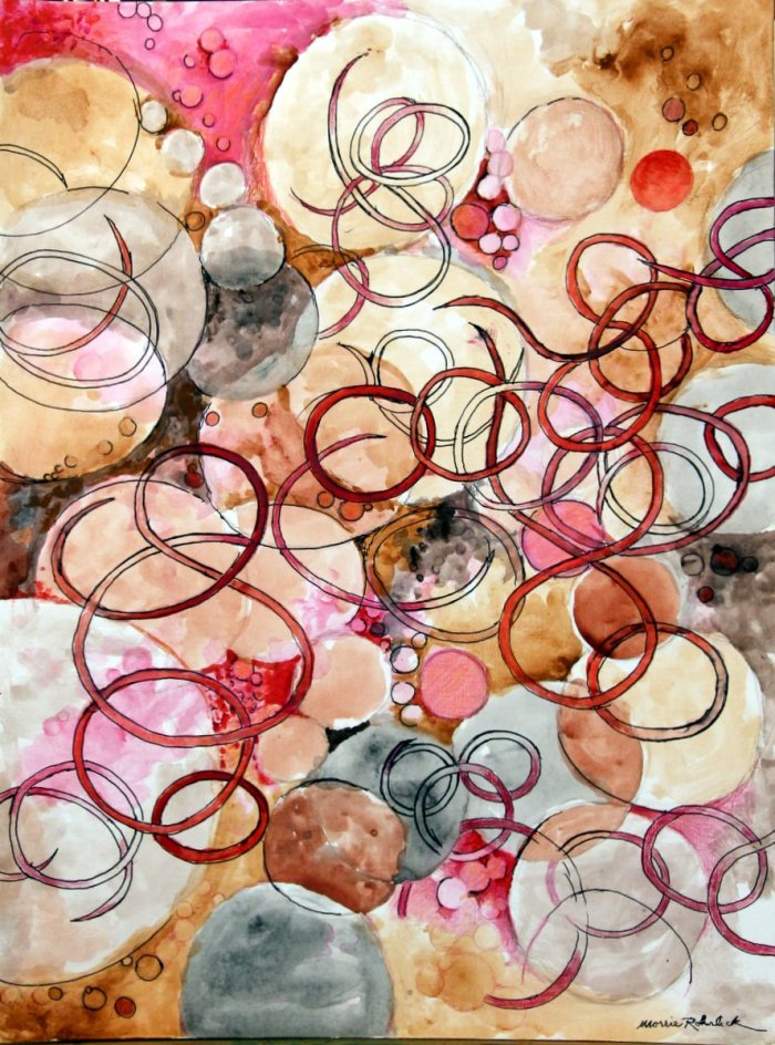 360-untitled-pink-circles-18-x-24-acrylics-pen-on-paper